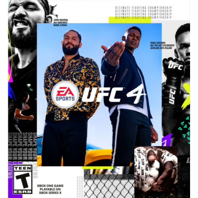 Game UFC 4 (PS4/PS5)