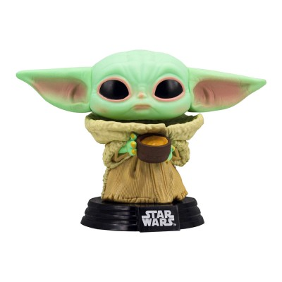 Funko Pop Baby Yoda with a Cup