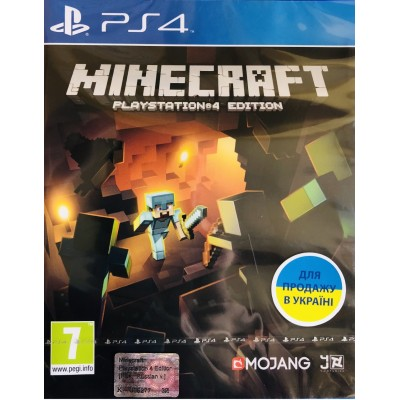 Game disk PS4 Minecraft