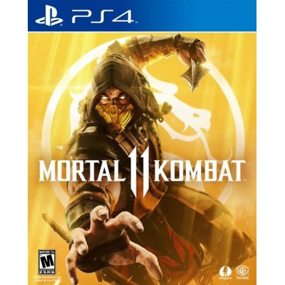 Game disk PS4 Mortal Kombat 1