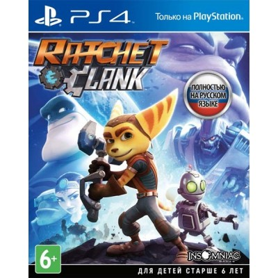 Game disk PS4 Ratchet & Clank