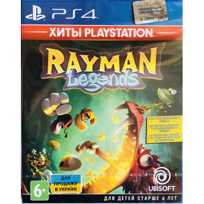 Game disk PS4 Rayman Legends