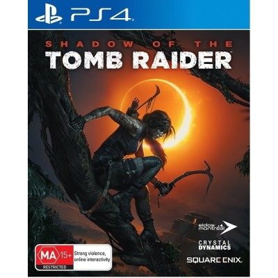 Game disc Shadow of the Tomb Raider