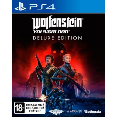 Game disc Wolfenstein Youngblood Delux Edition