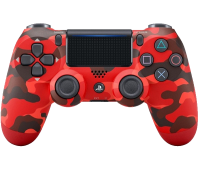 Sony DualShock 4 Red Camouflage Gamepad