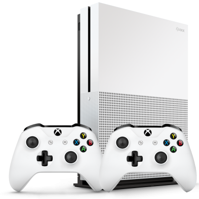 Xbox One S 1Tb with two gamepads Game Console