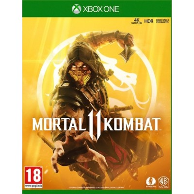 Game disc Mortal Kombat 11