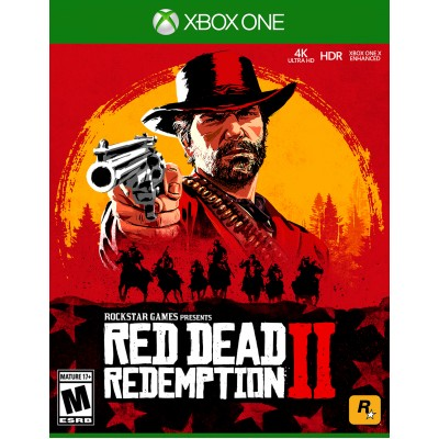 Game disc  Red Dead Redemption 2