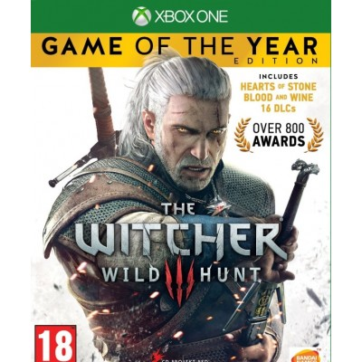 Game disc Xbox One Ведьмак 3: Дикая Охота Game of the Year Edition